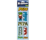 Do not Buy 3D Stickers with the name Pepa 8 Pieces 061