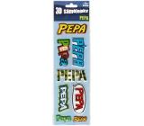 Nekupto 3D Samolepky se jménem Pepa 8 kusů 061