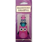 Albi Magnetic bookmark Owls 9 x 4.5 cm