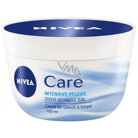 Nivea Care nourishing day cream for face, hands and body 100 ml