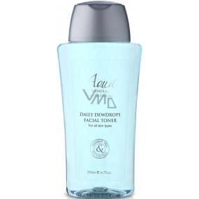 Aqua Mineral Daily Dewdrops Facial Toner čistící pleťové tonikum 200 ml