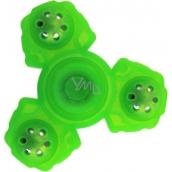 Fidget Spinner Gyro Ninja anti-stress tweak yellow phosphorous 5 x 5 cm