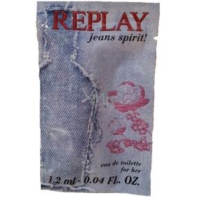 Replay Jeans Spirit Woman EdT 1.2 ml Eau de Toilette