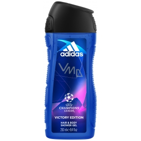 Adidas UEFA Champions League Victory Edition shower gel for men 250 ml