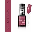 Revers Solar Gel Gel Nail Polish 12 Soft Mulberry 12 ml