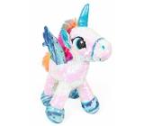 Albi Unicorn plush with sequins White 33 cm
