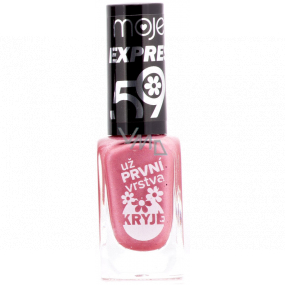 My 59 Express nail polish dark pink 10 ml