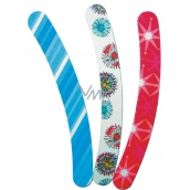 Abella Nail file color 17 cm various motives and colors 1 piece EMP-8