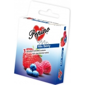 Pepino Mix Berry natural latex condom 3 pieces