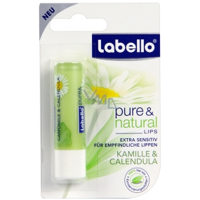 Labello Pure & Natural Camomile & Calendula lip balm 4.8 g
