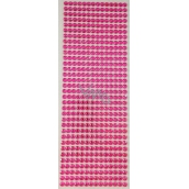 Albi Self-adhesive rhinestones pink 5 mm 462 pieces