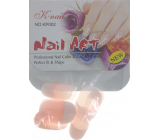 Natural Art Nails artificial nails rounded french manicure pink 10 pieces 806