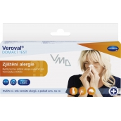 Veroval Zjištění alergie Domácí test 1 kus
