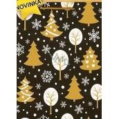 Nekupto Gift paper bag medium 23 x 18 x 10 cm Christmas 1471 02 WBM