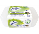Linteo Satin moistened toilet paper with oak bark box of 60 pieces