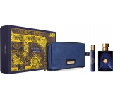 Versace Dylan Blue Eau de Toilette 100 ml + Eau De Toilette 10 ml + Etue, Gift Set