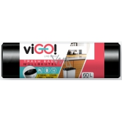 viGO! Garbage bags black 60 liters 50 x 67 cm 50 pieces