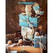 Nekupto Christmas paper gift bag M-WLBM 1522