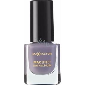 Max Factor Max Effect Mini Nail Polish Nail Polish 34 Juicy Plum 4.5 ml
