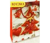 Nekupto Gift paper bag small 14 x 11 x 6,5 cm Christmas 1797 30 WBS