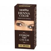 Venita Henna Profesional cream eyebrow color Brown 15 ml