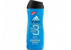 Adidas 3 After Sport shower gel for body and hair for men 400 ml