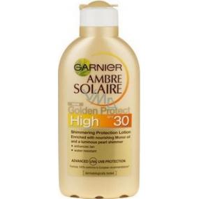 Garnier Ambre Solaire SPF30 suntan lotion 200 ml
