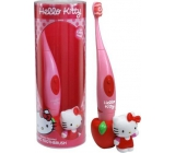 Hello Kitty Sonic Electric Toothbrush + 3D Figurine for Kids 1 Piece
