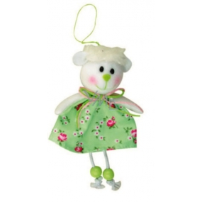 Sheep in a flowered skirt 15 cm