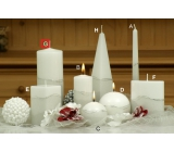 Lima Artic candle white cylinder 80 x 200 mm 1 piece