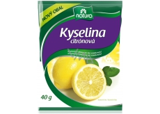 Natura kyselina citronová osvědčený přípravek pro domácnost 40 g