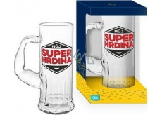 Albi Beer mug My superhero 500 ml