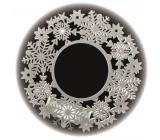 Wreath 30 x 30 cm - 11 LED warm white + timer