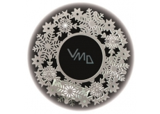 Wreath 30 x 30 cm - 11 LED warm white + timer 11294 1642