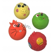 Trixie Latex Ball with face toy for animals 6.3 cm