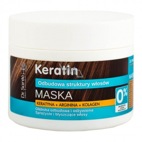 Dr. Santé Keratin Hair deeply regenerating and nourishing mask for fragile brittle hair without shine 300 ml