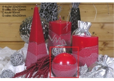 CANDLE BALL 100 Artic Red 9133