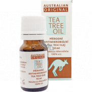Australian Tea Tree Oil 100% Original pure oil cleanses the skin from bacteria 10 ml