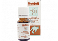 Australian Tea Tree Oil Original 100% pure natural oil cleanses the skin of bacteria 10 ml