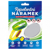 Repellent bracelet for mosquitoes, ticks of different colors 1 piece