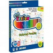 The Littlies Eco Crayons 24 pieces