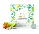 Waterdrop FOCUS - sharpen your senses, lime, green coffee, baobab, invigorating microdrink 12 capsules