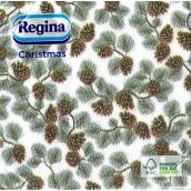 Regina Paper napkins 1 ply 33 x 33 cm 20 pieces Christmas Pine cones