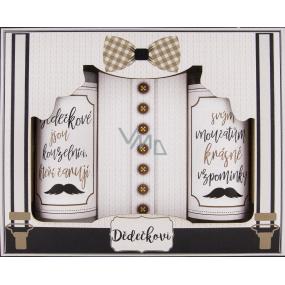 Bohemia Gifts Grandpa's shower gel for men 100 ml + hair shampoo 100 ml + bath salt 110 g, cosmetic set