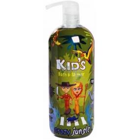 Hergon Crazy Jungle bath foam for children 950 ml
