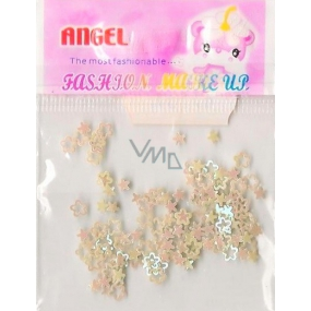 Angel Ornaments flowers and stars yellow 1 pack