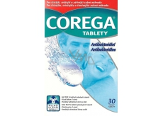 Corega Tabs Dental Prosthesis Cleansing Tablet 30 Pieces