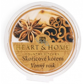 Heart & Home Cinnamon spice Soy natural fragrant wax 27 g