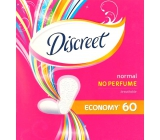 Discreet Normal No Perfume Economy pantyhose intimate insoles for everyday use 60 pieces