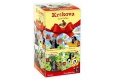 Apotheke Krteček's Tea 4 types of fruit and herbal teas for children 20 x 2 g